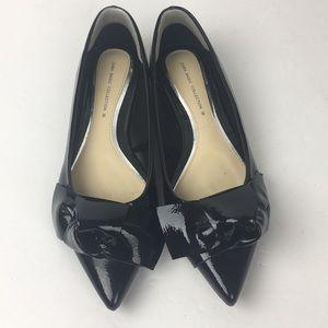 Zara Basic Collection Black Patent Leather Flats